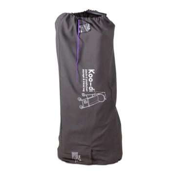 Koo-Di Stroller Travel and Storage Bag - Grey and Purple