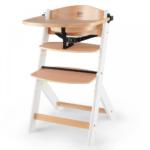Kinderkraft Enock Wooden Higchair - Wood/White