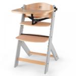Kinderkraft Enock Wooden Higchair - Wood/Grey