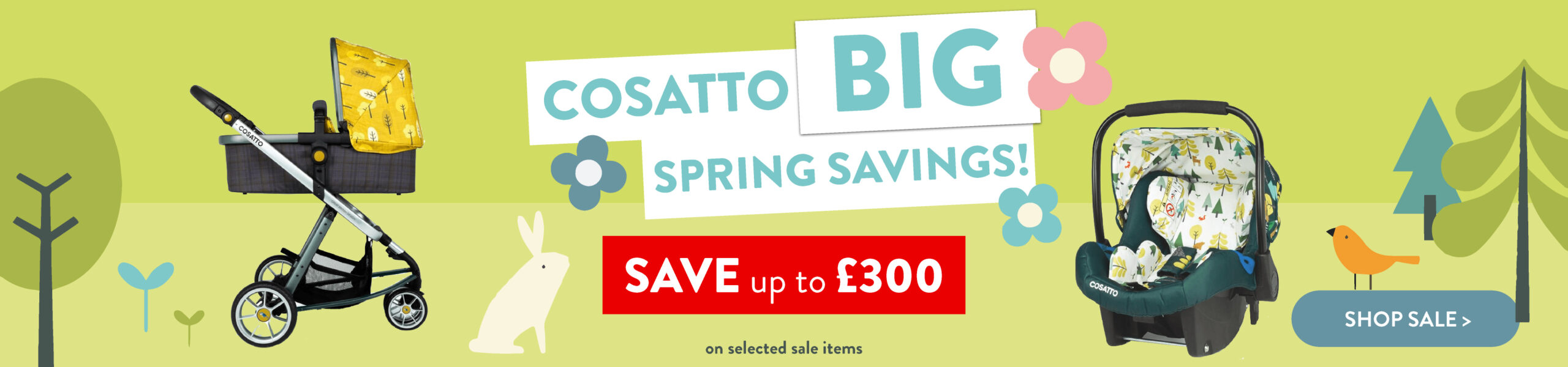 Cosatto Spring Sale