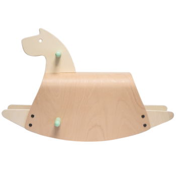 Callowesse Pinto Wooden Rocking Horse 2