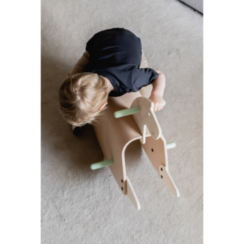 Callowesse Pinto Wooden Rocking Horse - 1