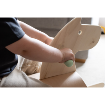 Callowesse Pinto Wooden Rocking Horse - 2