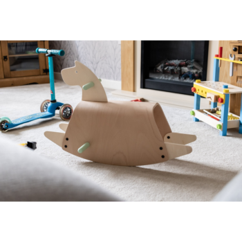 Callowesse Pinto Wooden Rocking Horse - 5
