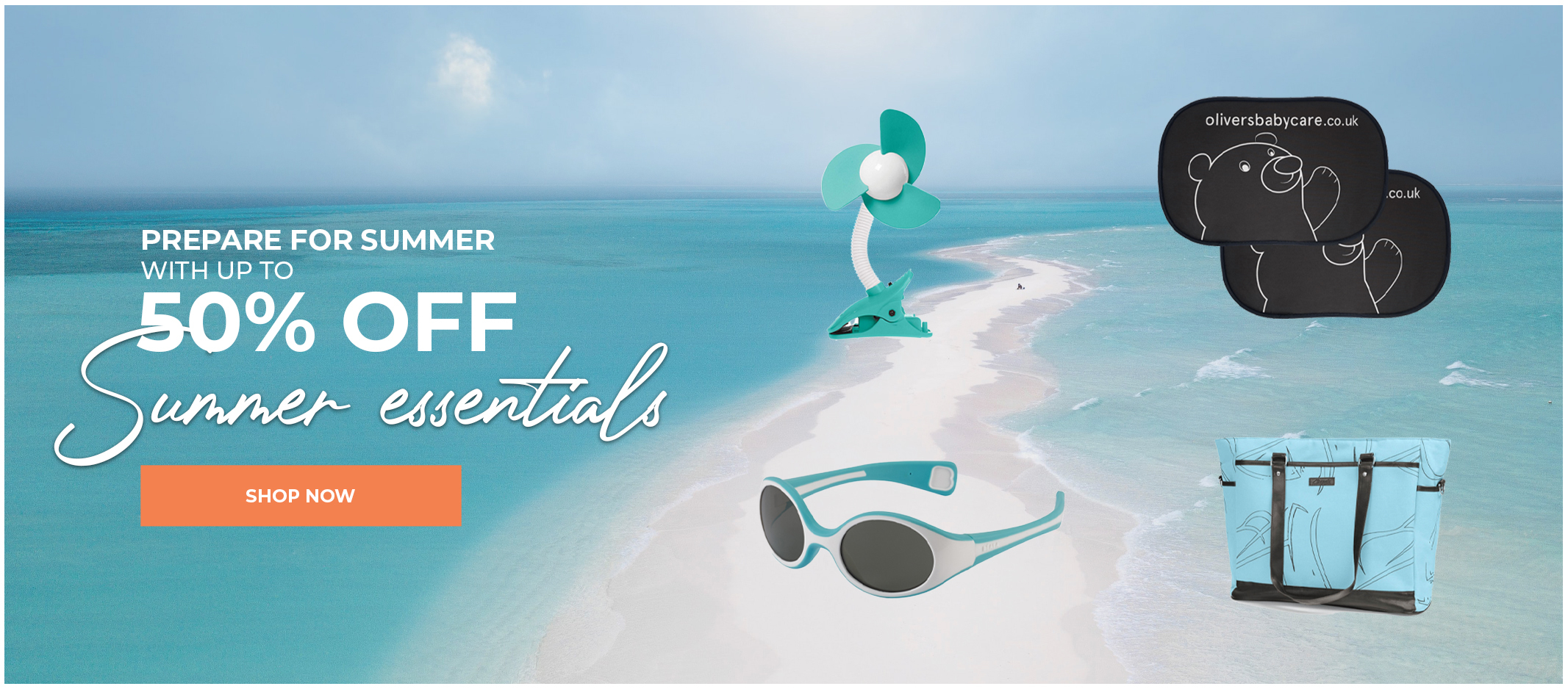 Summer Essentials Banner
