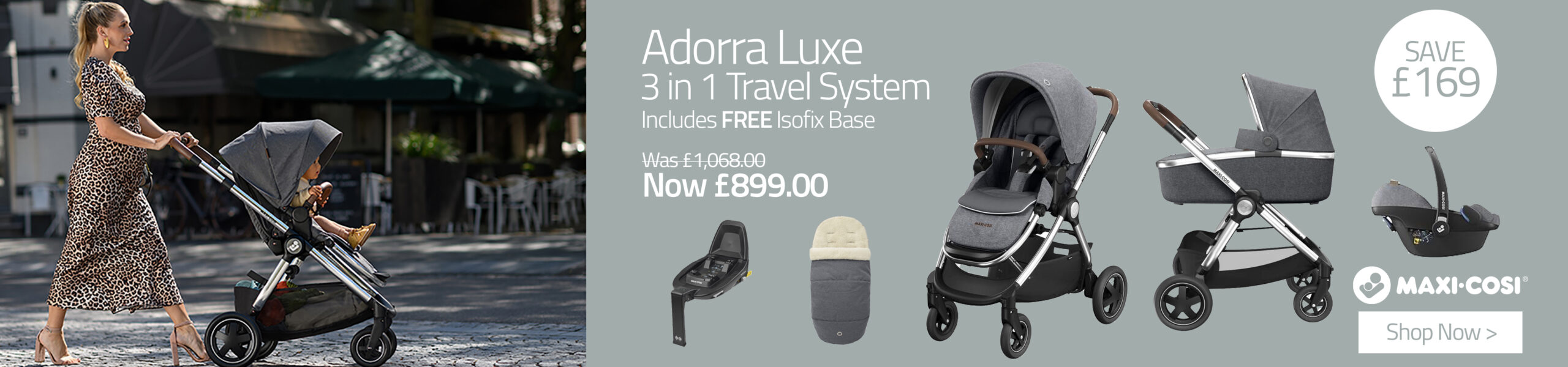 Maxi-Cosi Adorra Luxe 3-in-1 Travel System