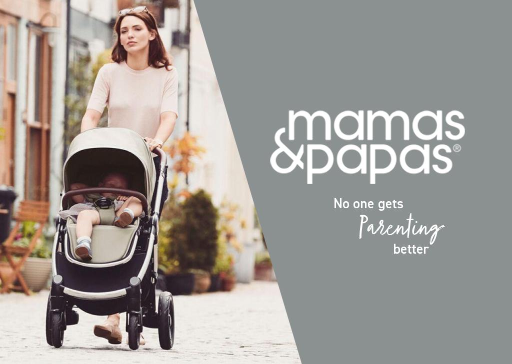 Mamas and Papas top banner