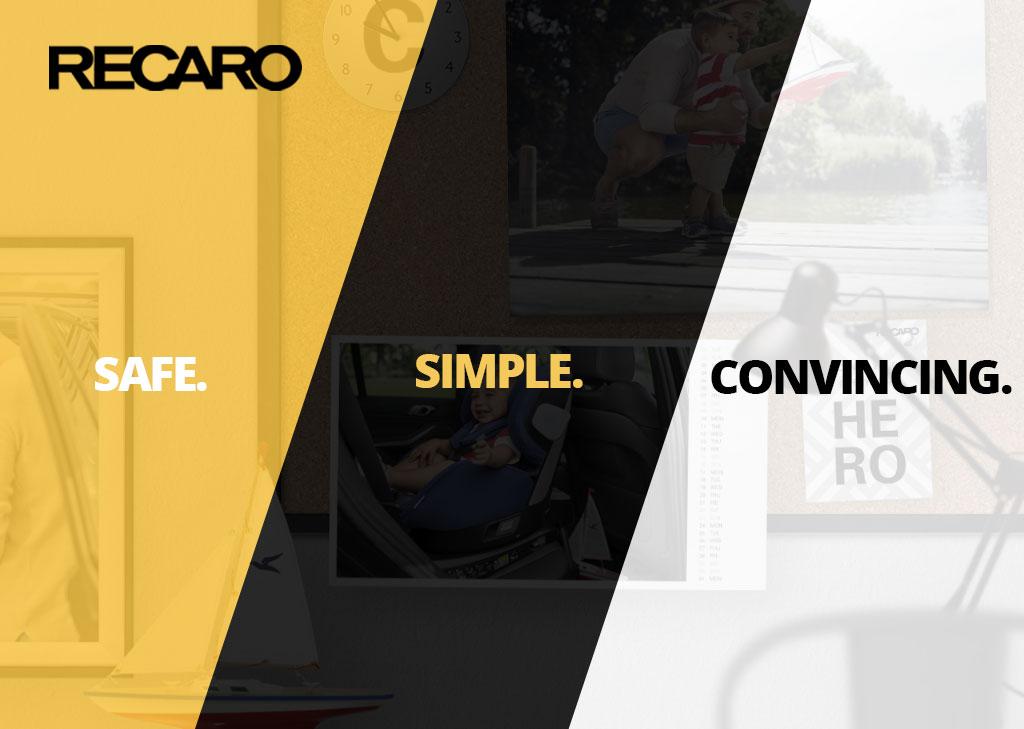 Recaro Brand Banner
