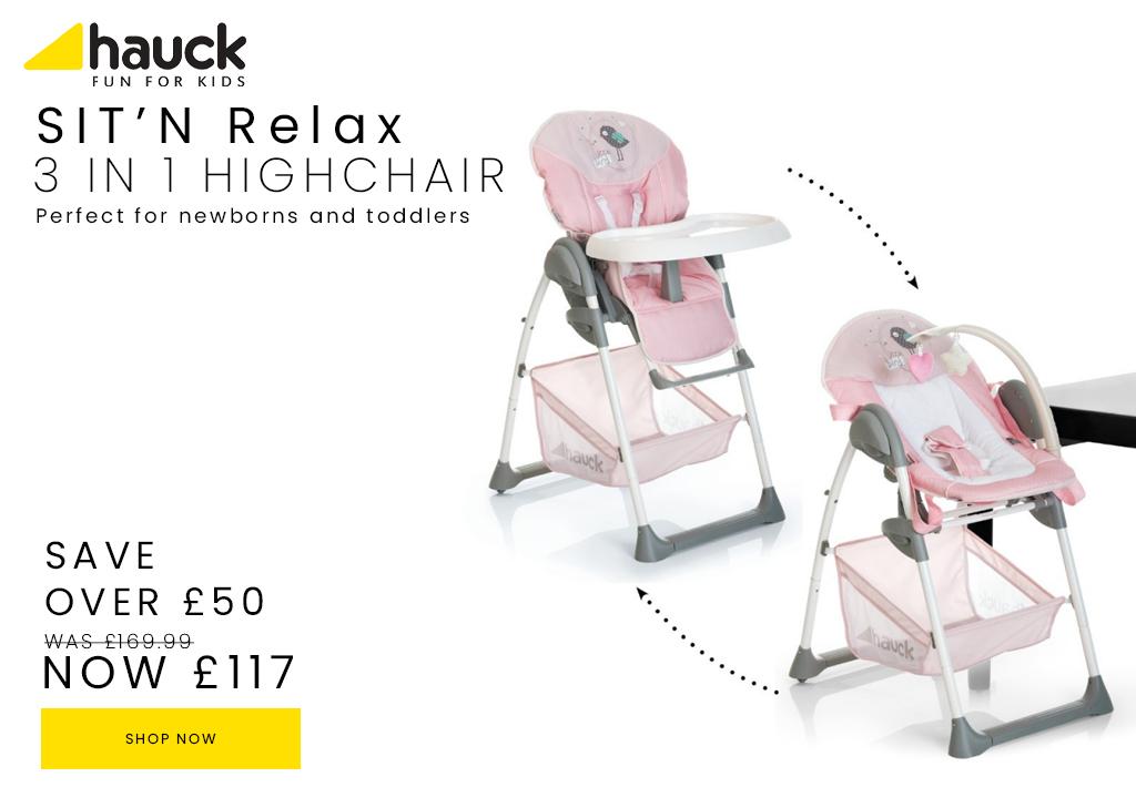 Hauck Sitn-relax-high-chair