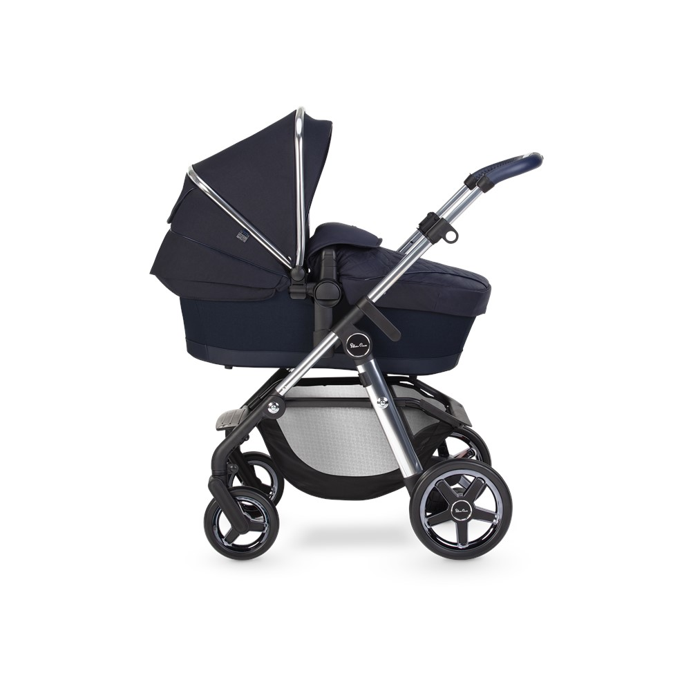 Silver Cross Pioneer 21 Carrycot - Sapphire