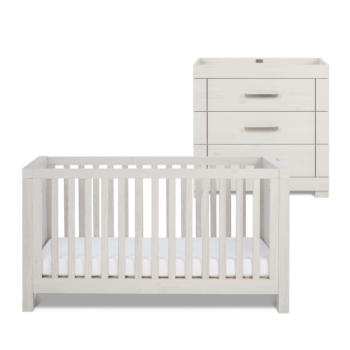 Silver Cross Coastline 2 Piece Room Set - Cot Bed & Dresser