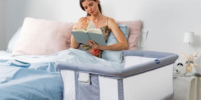 Chicco Next2Me Air Side-Sleeping Crib – Stone