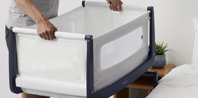 SnuzPod⁴ Bedside Crib & Mattress